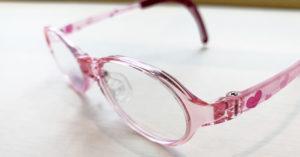 弱視 子供用メガネ